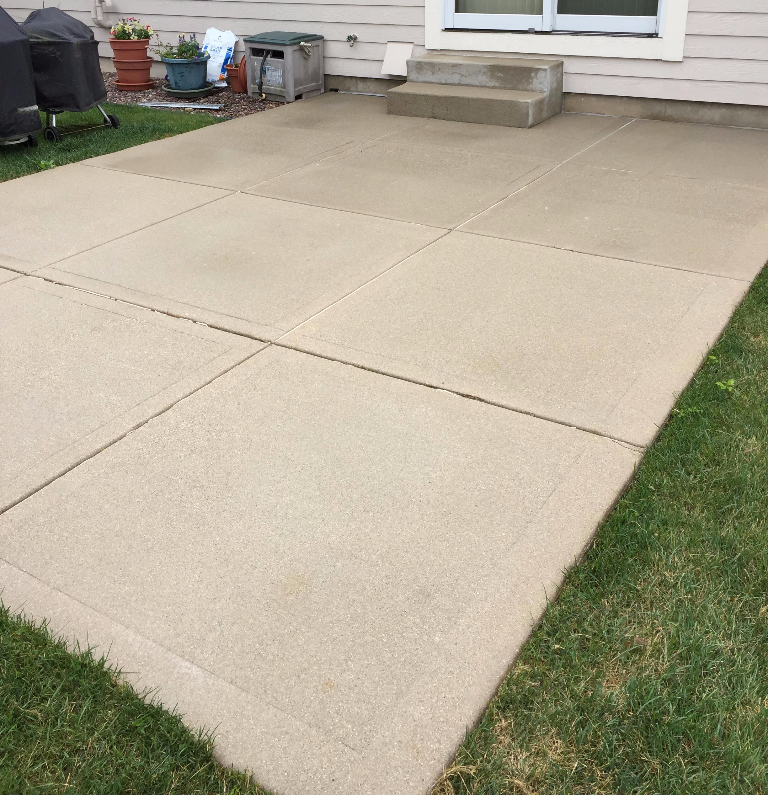 concrete how clean miracle make patio cleaner to diy a